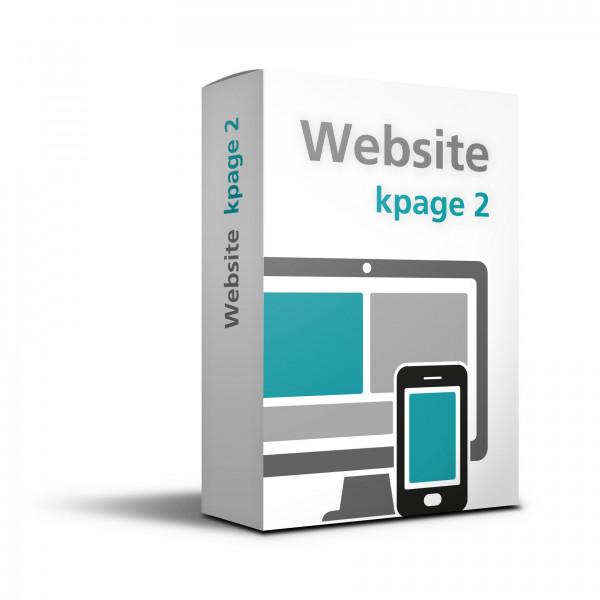 Einmalige Einrichtung Website – kpage 2